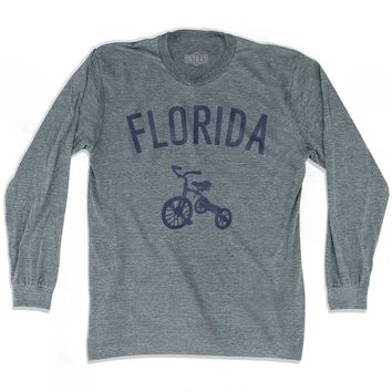 Florida State Tricycle Adult Tri-Blend Long Sleeve T-shirt