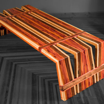 Designer furniture Coffee table or bench