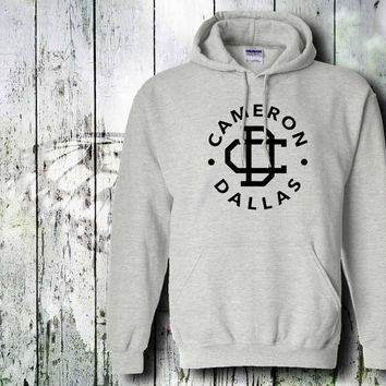 cameron dallas logo  hoodie unisex adult by gildan