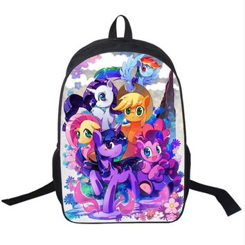 My Little Pony Backpack For Teenagers Girls School Bags Young Women Daily Backpack Children Backpacks Kids Bag Mochila Escolar