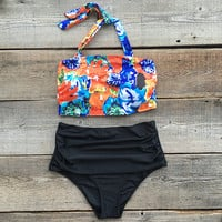 Cupshe Hang With Me Floral Printing Bikini Set