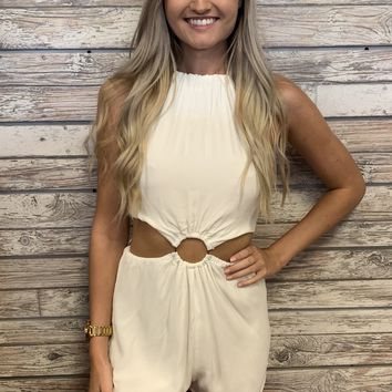 Just Dance Romper- White