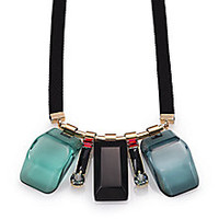 Marni - Multistone Pendant Necklace - Saks Fifth Avenue Mobile