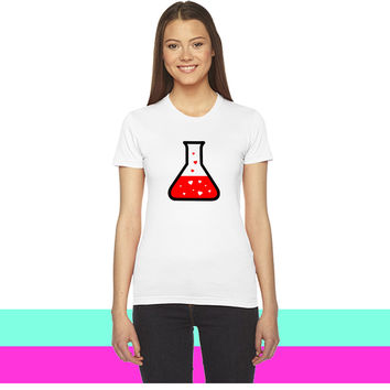 Love Potion (Science)_ women T-shirt