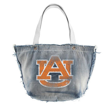 Auburn Tigers NCAA Vintage Denim Tote