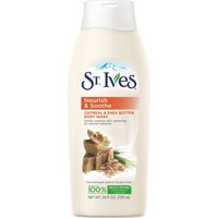 St. Ives Nourish and Soothe Oatmeal and Shea Butter Body Wash, 24 oz - Walmart.com