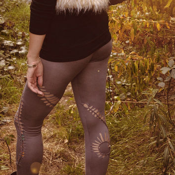 Spiral festival braided leggings. Pixie pants available in different colours and sizes