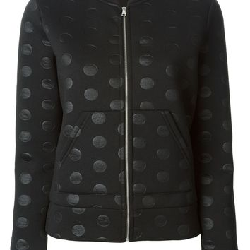 Sonia By Sonia Rykiel polka dot neoprene jacket
