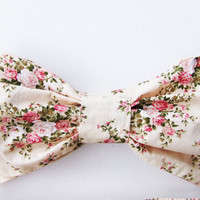 Vintage Bow Sunkini Bandeau Cottage Rose