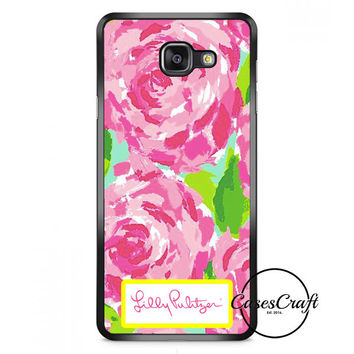 Lilly Pulitzer First Impression Rose Inspired Samsung Galaxy A7 Case | casescraft