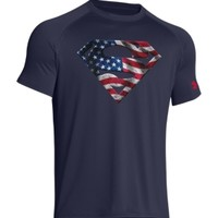 Under Armour Men's Alter Ego United States of America Superman Graphic T-Shirt