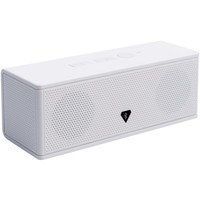 Audiosource Portable Bluetooth Stereo Speaker & Speakerphone (white)
