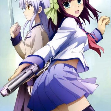 Angel Beat Japanese Anime Wall Scroll Poster and Banner 1