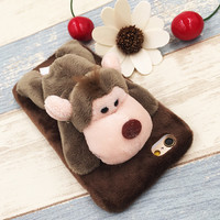 Cute Monkey Dolls Case for iPhone 5s 6 6s Plus Gift 09