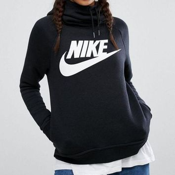 ONETOW NIKE' Women Fashion Hooded Sweater Pullover Hoodie