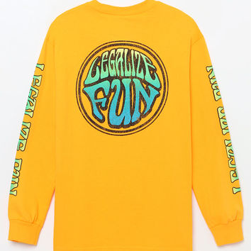 OOPS Legalize Fun Sleeve T-Shirt at PacSun.com