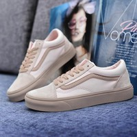 Vans Old Skool Woman Men Canvas Flats Sport Shoes-7