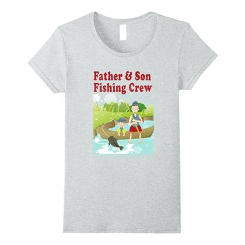 Father And Son Fishing Crew 2nd Edition - Fishing Shirt