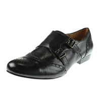 Naturalizer Womens Lasey Leather Monk Strap Oxfords