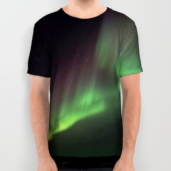 Aurora VII All Over Print Shirt by Gallery One