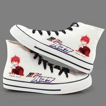 High-Q Unisex Kuroko no Basket Csoplay plimsolls canvas shoes rope soled shoes Preppy Student Casual Daily Canvas Shoes