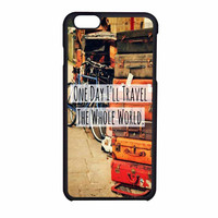 Travel Whole World Quote iPhone 6 Case
