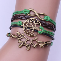 Branches Tree Of Life Woven Bracelet