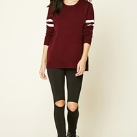 Varsity Stripe Sweater