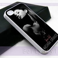 Iphone Case - Iphone 4 Case - Iphone 5 Case - Samsung s3 - samsung s4 - Ariana Grande - Photo Print on Hard Plastic