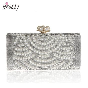 2017 Fashion Women Handbags Metal bling Shoulder Bags Ladies Print Day Clutch Party Evening Bags WY134