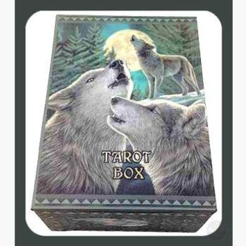 """Wolf Song"" Tarot Box"