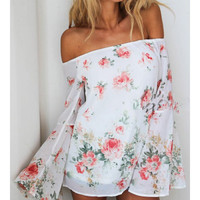 Roses and Grace Bell Sleeve Stunner