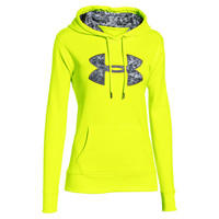 Women's Under Armour Storm Armour Fleece Printed Big Logo Hoodie