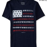 Free State Southwestern USA Flag Graphic T