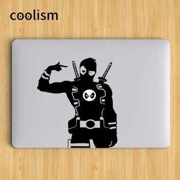 Deadpool Dead pool Taco  Humor Laptop Decal Sticker for Apple MacBook Air Decal 13 Pro Retina 11 12 15 17 inch Vinyl Mac Notebook Skin Sticker AT_70_6