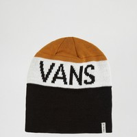 Vans Stitch Beanie In Black VA2WOZKGU