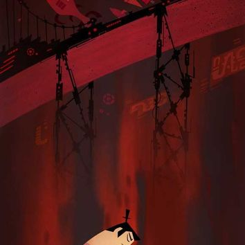 Samurai Jack 14x36 Movie Poster (2001)