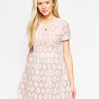 Traffic People Catching Dreams Skater Dress in Daisy Lace