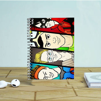 5Sos Superhero 2 Photo Notebook Auroid