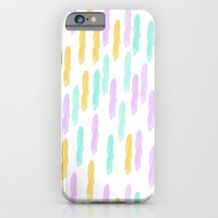 Hello Spring Pastel Pattern iPhone & iPod Case by Allyson Johnson | Society6