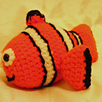 Finding Nemo Pattern Series: Marlin, Intermediate Crochet  Pattern, Pixar Pattern, Disney Pattern, Amigurumi Pattern, Stuffed Fish Pattern