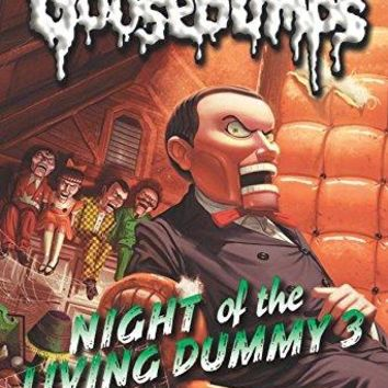 Night of the Living Dummy Goosebumps Reissue