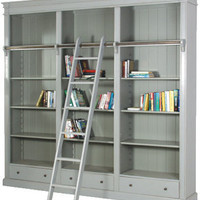 French grey Bibliotheque