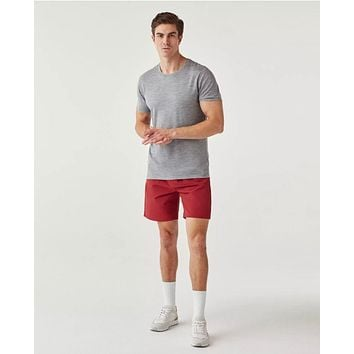 Olivers - All Over Zipped Dark Red Shorts
