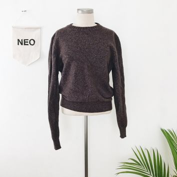 Tri-colored Wool Sweater