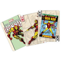 The Invincible Iron Man Old School Marvel Playing Cards