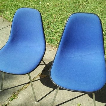 Two (2) Herman Miller Vintage Eames Shell Chairs