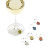 Palette Wine Charms (Set of 6)