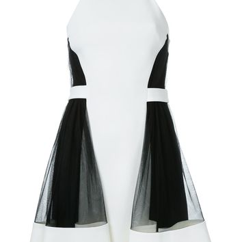 David Koma Side Tulle Ruffle Dress - Farfetch