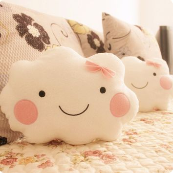 Cute Plush Pillow - Free Shipping - Kawaii Soft Plush Smiley Cloud
